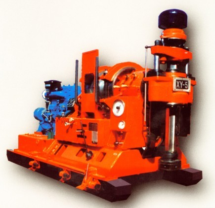 XY-5/5N type core drilling machine is a new type drill rig
